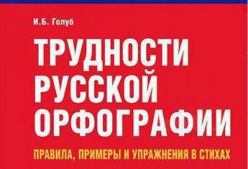 Fusionierte und separate Schreiben Gewerkschaften in russischer Sprache