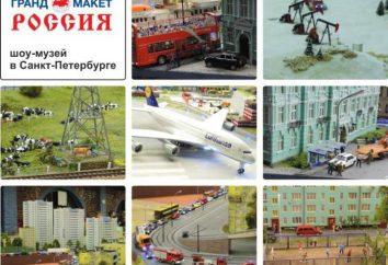 """Muzeum """"Wielki model"""" Petersburg: opis, historia i ciekawostki"""