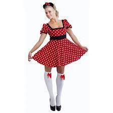 colorful costume Minnie Mouse – un successo garantito al festival