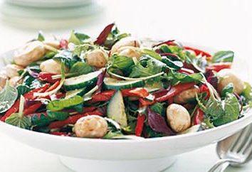 Recette d'un panier: salade « Forest Glade »