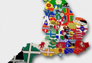 Hrabstwo Anglii – tradycje i osobliwości z podziałem administracyjnym kraju.