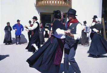 Dança Francês: Folk e antiga