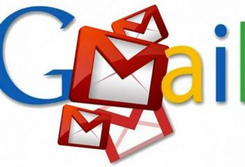 Configuración de la dirección de Gmail. e-mail