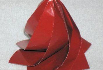 Como fazer flores de papel? Três rosas método de fabrico simples