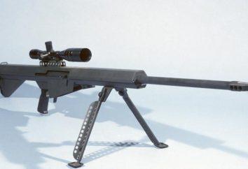 Karabin Barrett M82: specyfikacje techniczne i opis