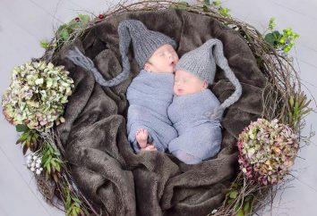 Nest-Baby Hände. Wie ein Nest für das Neugeborene nähen