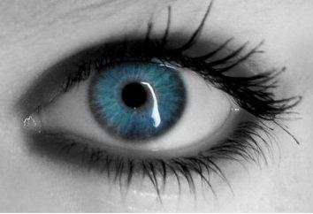 yeux bleus et la couleur des cheveux