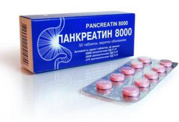 """Medycyna """"pankreatyny"""": przeczytaj instrukcje użytkowania"""