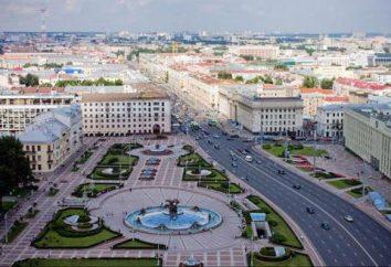 Minsk Region. Ihre Infrastruktur und Existenzen