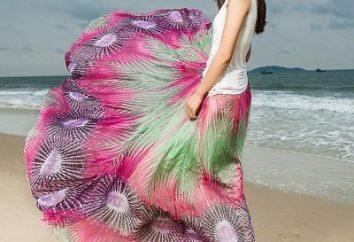Spódnica Plaża: stylach modne i zdjęcia