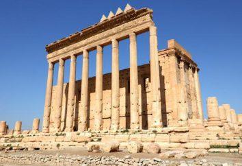 Palmyra, Síria: história e descrição da antiga cidade