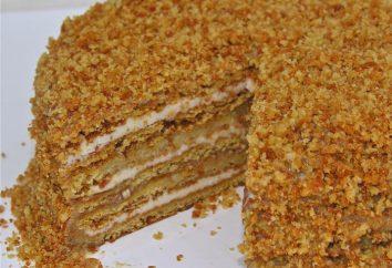 """Receptura """"Ryzhik"""" dla początkujących. Ciasto """"Ginger"""": klasyczny przepis"""