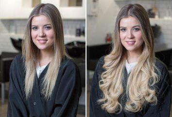 Przedłużanie włosów w warkocz: opis opinie procedury. Grzebień przedłużonych włosach