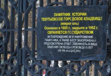 cimetière Tekutevskoe à Tyumen: histoire, description et faits intéressants