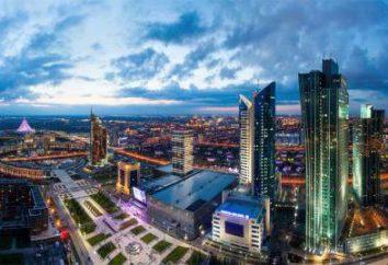 Hotels in Astana: Beschreibung