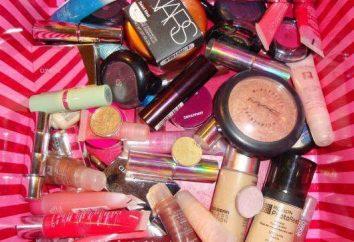 cosméticos baratos e ex-qualidade