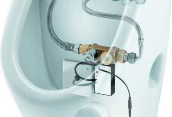 Sifão para urinol: tipos de recursos de instalação