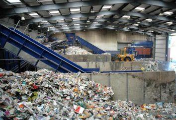 Rifiuti di smistamento: attrezzature smistamento e il riciclaggio dei rifiuti domestici