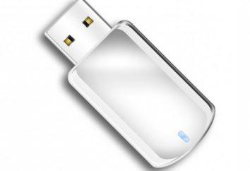 Por que não ver o flash drive Windows 7, o que fazer?