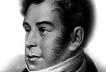 Gnedich Dichter Nikolai Ivanovich: Biographie, Kreativität und interessante Fakten