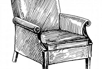 Jak narysować krzesło na schodach?