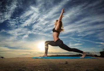 Power Yoga pour les débutants: une description, une série d'exercices et recommandations