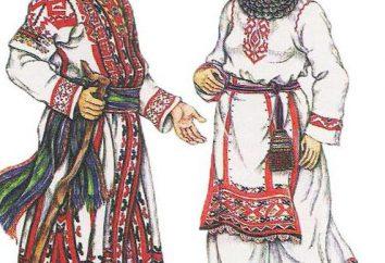Origine ethnique tchouvache, présente des traits caractéristiques. L'histoire du peuple