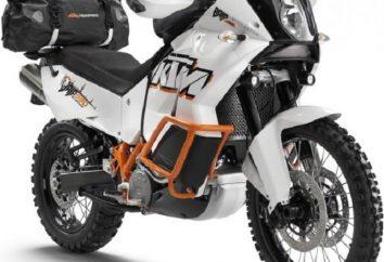 Motocykl KTM Adventure 990: Dane techniczne