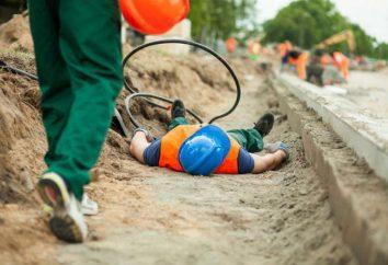 Pojęcie wypadku przy pracy: tryb śledczy