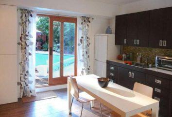 Top Vorhänge für die Küche Balkontür