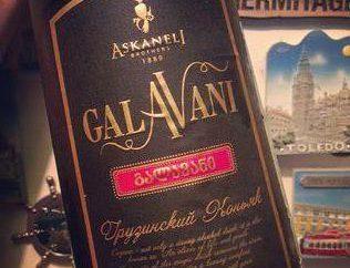 "brandy georgiano ""Galavanov"" (5 estrelas)"
