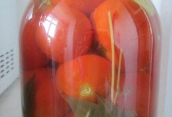 los tomates de decapado en frío – viejas tradiciones