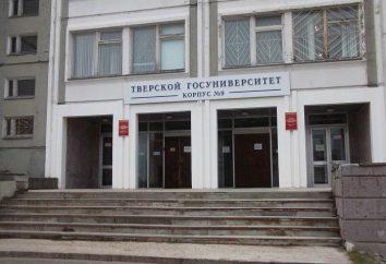 Universidad Estatal de Tver (TSU): Facultad de Pedagogía
