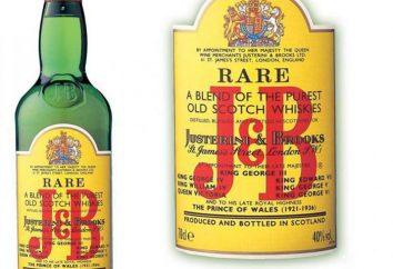 J & B – whisky ze Szkocji