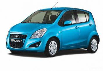 """Samochodów """"Suzuki Splash"""". Model Przegląd"""
