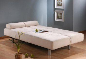 Canapé-lit avec matelas orthopédique – un mobilier élégant et confortable pour votre maison