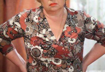 Galina Iwanowna Voronina: charakter aktorka