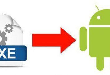 Comment ouvrir fichier EXE sur le « Android »: deux solutions simples