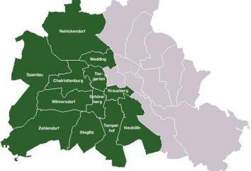 Berlín Occidental. Las fronteras de Berlín Occidental