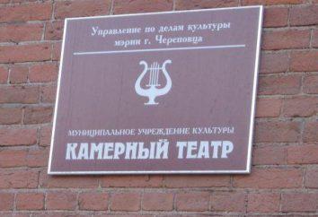 Izba Teatralna, Cherepovets: repertuar, historia