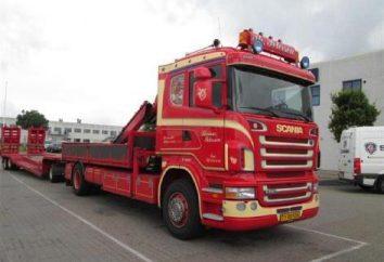 """Tracteurs """"Scania"""": description, spécifications et avis des propriétaires"""