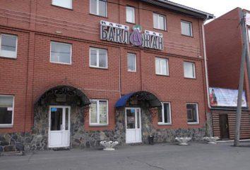 """Cafe """"berenjena"""", menú de Chelyabinsk, dirección, comentarios"""