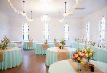 Dekoracja sali weselnej jako gwarancja świątecznego nastroju
