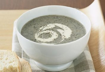 Zuppa di crema con funghi e panna: Ricette