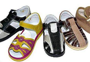 antylopy buty. Tabela rozmiarów obuwia dziecięcego.