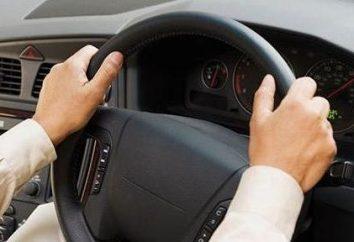 Comment obtenir un mouvement sur la voiture et quelles règles vous devez suivre