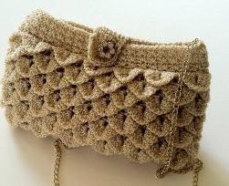 Crochetar um saco para o verão