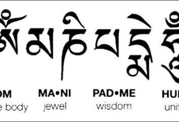 """Che importa mantra """"Om mani padme hum"""". mantra di traduzione"""
