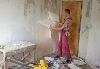 O que fazer o primeiro – piso ou parede na reparação?