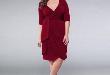 robes à la mode et élégant pour les femmes plus grandes (photo)